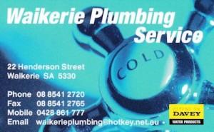 Waikerie Plumbing Service